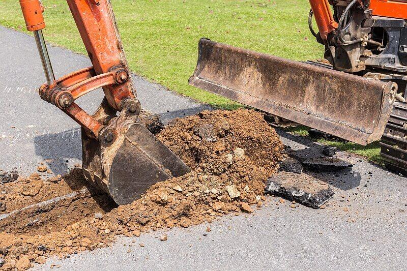 Grabarbeiten, Erdarbeiten und Erdaushub in Heilbronn